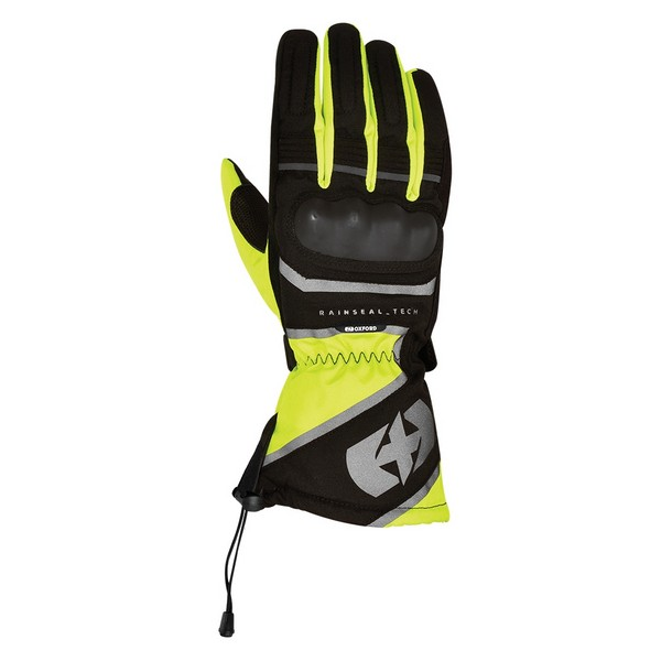 Oxford Montreal 1.0 Glove Black & Fluo